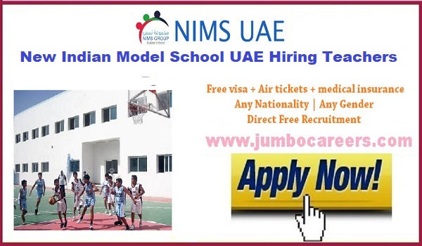 Available teaching Jobs in UAE, Current Teachers jobs in UAe,