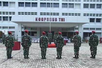 Komandan Koopssus TNI Pimpin Sertijab Tiga Pejabat Koopssus TNI