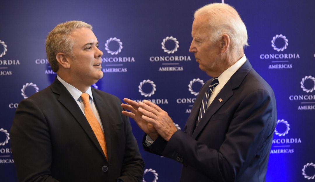 Presidente Biden envió una carta a Duque, recalcó contribuir a una paz duradera