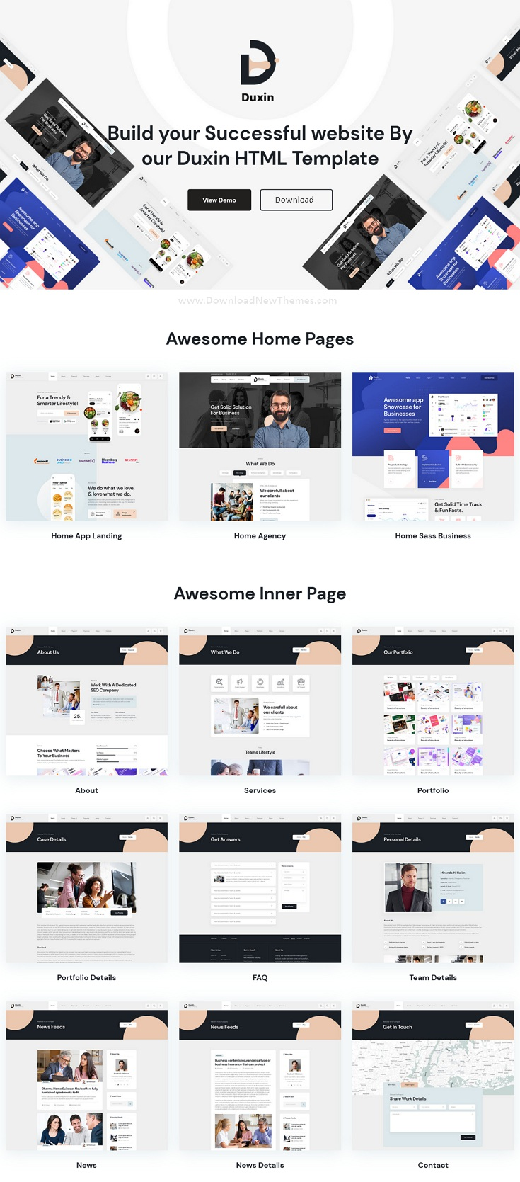 Multipurpose Business Bootstrap Template