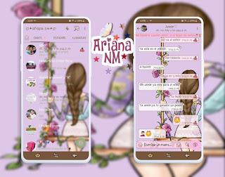Back Girls Theme For YOWhatsApp & Fouad WhatsApp By Ariana NM