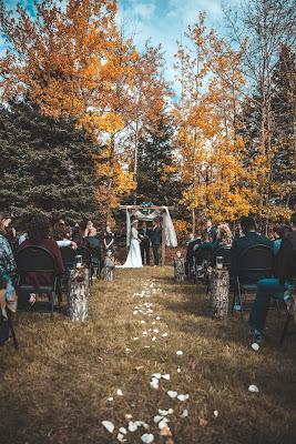 Pasillo nupcial en ceremonia de boda