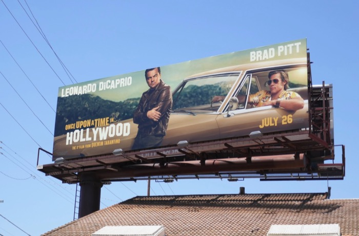 Once Upon a Time in Hollywood movie billboard