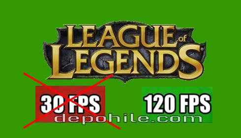 League of Legends FPS Artırma Config İndir 2020 Legal Yöntem