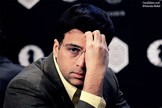 Anand a-t-il perdu toutes ses chances ? - Photo © Amruta Mokal
