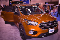 2017 Ford Escape at the Portland Auto Show