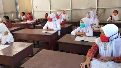 Dikbud Lotim Kembali Berlakukan Pembelajaran Tatap Muka di Sekolah