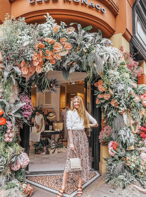 London Chelsea in Bloom Instagram Guide