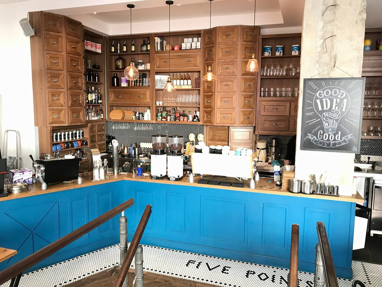 """Кафе """"Five Points"""" в Братиславе"""