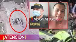 VIDEO: Momento en el que son asesinados dos policías en San Vicente del Caguán, Caquetá