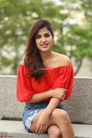 Rhea Chakraborty in Red Crop Top and Denim Shorts Spicy Pics ~  Exclusive 015.JPG