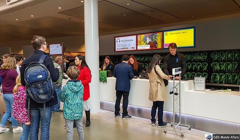 Entrada do Museu Van Gogh em Amsterdam: como visitar o museu