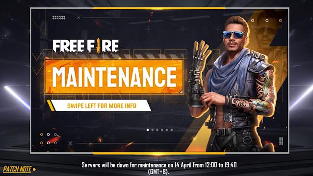 Free Fire Maintenance
