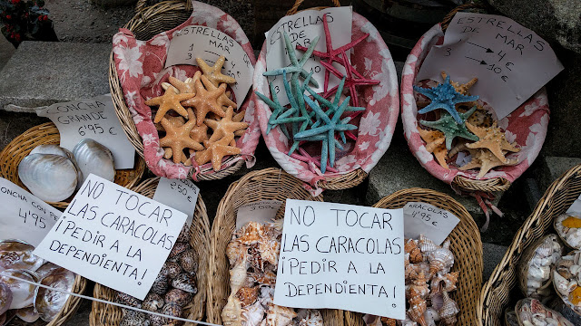 Souvenirs rúa de San Roque
