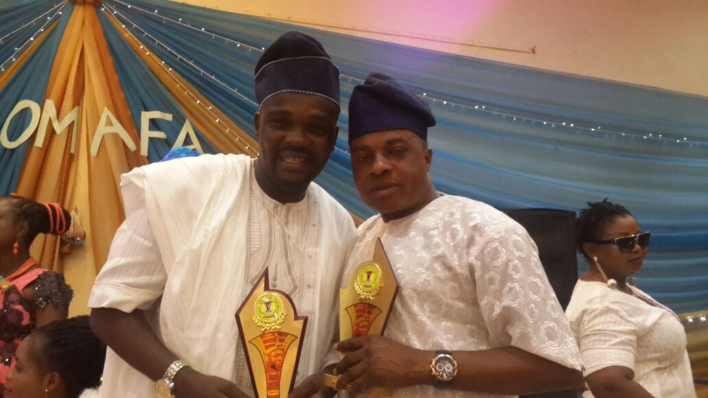 Image result for Toyin Aimakhu, Yomi Fabiyi win best Yoruba actress, actor in leading role
