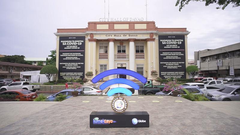 Globe's KonekTayo WiFi, free GoWiFi services now in Davao City