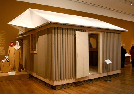 monsieur carton shigeru ban arquitectura en cart n. Black Bedroom Furniture Sets. Home Design Ideas