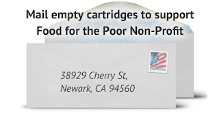 donate empty printer cartridges