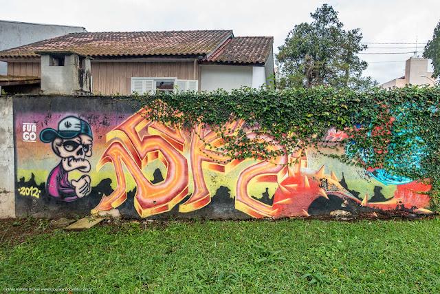 Grafite em muro