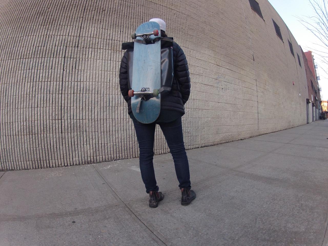 Mer Bags New Skateboard Backpack