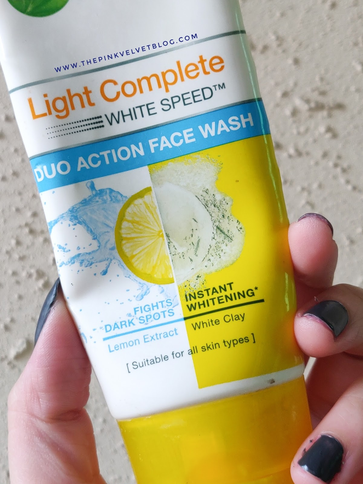 Garnier Light Complete Duo Action Face Wash - Review
