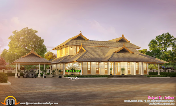 Kerala Nalukettu House Plans