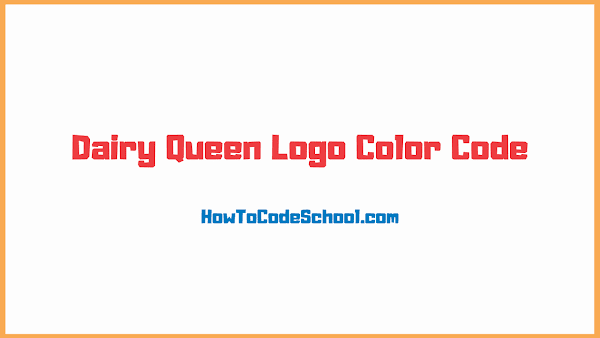Dairy Queen Logo Color Code