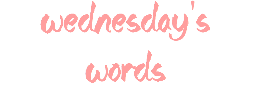 five. {Wednesday Words – Living on Purpose}