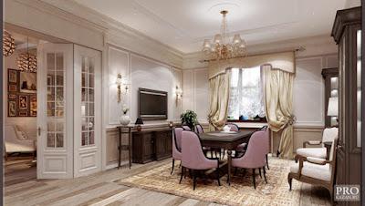 neoclassical interior design, neoclassic style