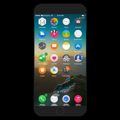 Anemone Themes iOS 11