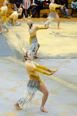 Parkrose Dance Team Rising of the Horns