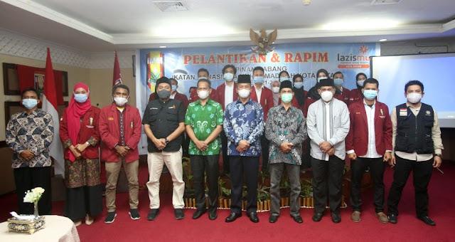 Rudi Menghadiri Pelantikan Pimpinan Cabang IMM Kota Batam periode 2021-2022