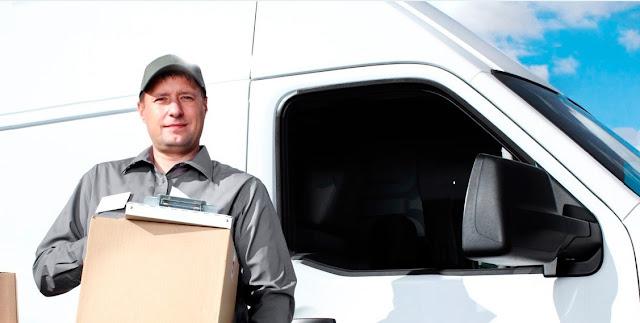 vaga de motorista entregador