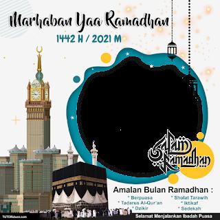 Template Twibbon Ramadhan 1442