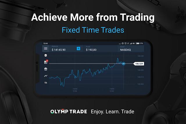 Cara Trading di Olymp Trade Agar Menang