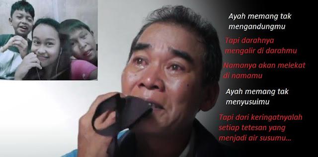 Tiga Anaknya Hilang Saat Ditinggal Kerja, Ayah di Palembang Ini Menangis