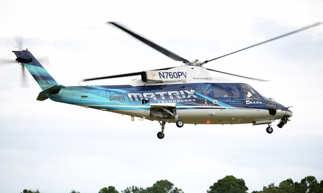 Image Attribute: Sikorsky Autonomy Research Aircraft (SARA), a modified S-76B commercial helicopter / Source: Sikorsky, a Lockheed Martin company & DARPA