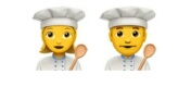 Female/Male Chef emoji Hindi Meaning