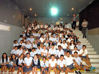 Box Jelly fish awareness presentation at Panyadee the British school in Samui