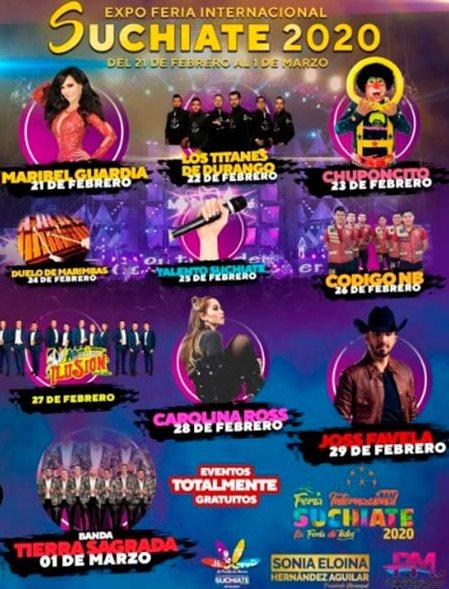 Feria Suchiate 2020 programa