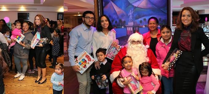 Fundación Miosotis y Félix Cabrera entrega juguetes a cientos de niños pobres en el Alto Manhattan