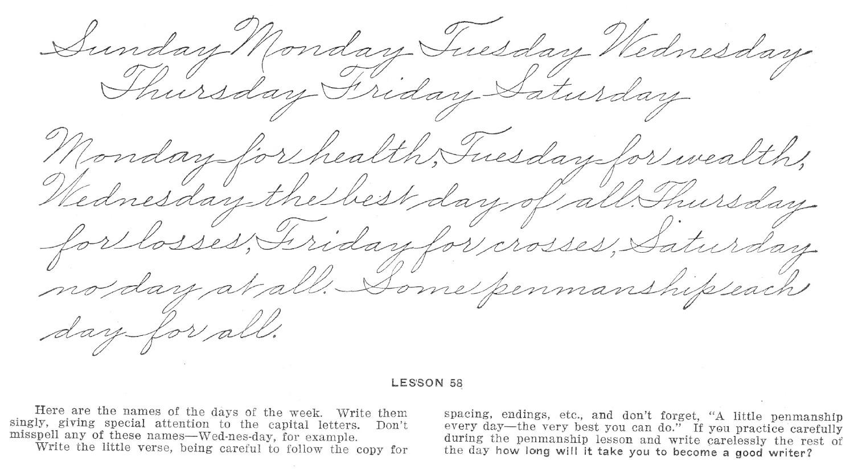 24 Penmanship Calligraphy Handwriting Practice Download
