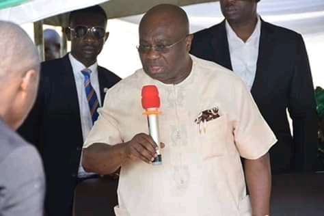 Handover to Heads of Service - @GovernorIkpeazu Directs Ex Council Chairmen And Deputies.