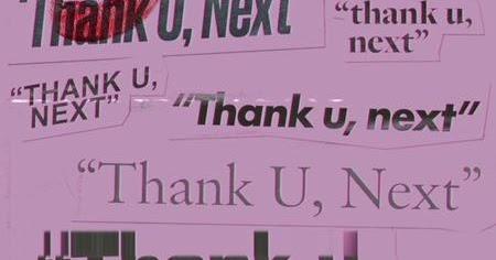 Thank u next ariana grande lyrics