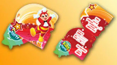 Jollibee party package - My Bestfriend Jollibee invitation cards