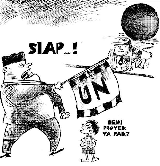 gambar karikatur pendidikan