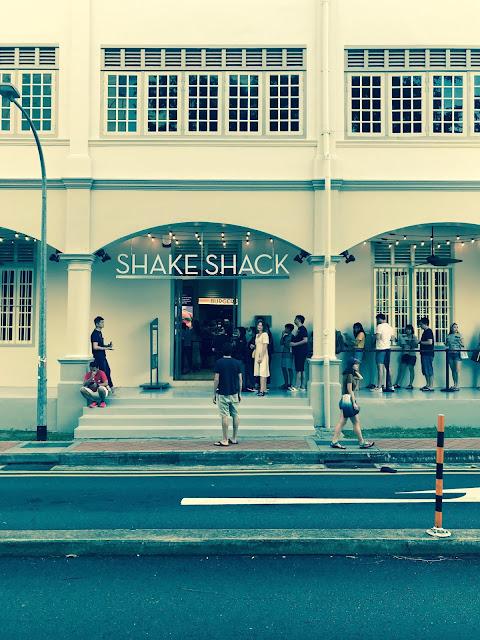Shake Shack, Neil Road
