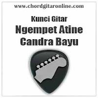 Chord Kunci Gitar Candra Bayu Ngempet Atine