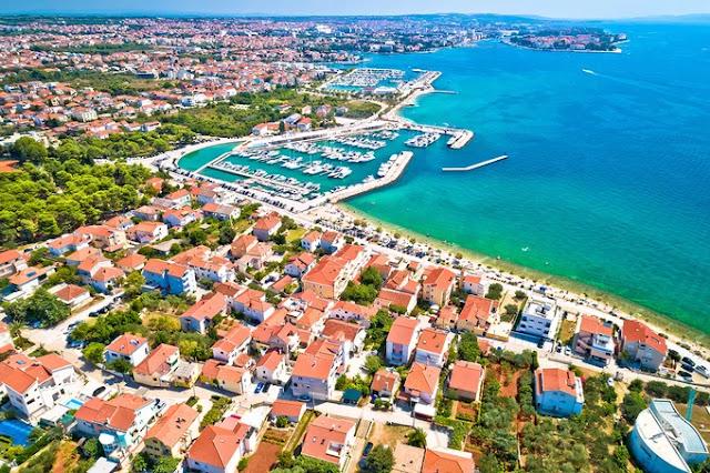 Zadar city.