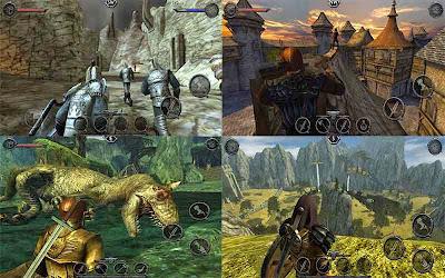 Ravensword : Shadowland MOD APK+DATA Versi 1.3 (Unlimited Golds)